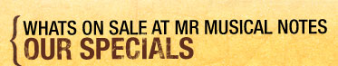 The MR Musical Notes Catalog